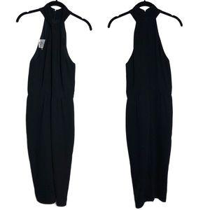 Giambattista Valli Dresses - Giambattista Valli Black Cady Halter Dress